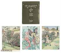 Three illustrations for Arthur Kelly's The Rosebud and Other Tales - 'The Rosebud'