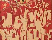 Les Ternes (lettres jaunes sur fond rouge)