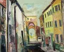 Mediterranean street scene