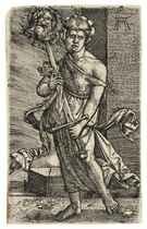 Judith with the Head of Holofernes (Bartsch 1; Winzinger 158)