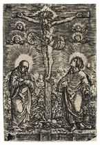 Christ on the Cross (Bartsch 7; Winzinger 120)