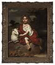 Portrait of a boy, full-length, as Saint John the Baptist