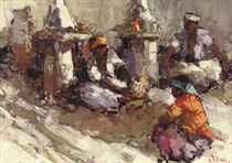 Sateh sellers