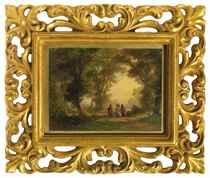 Der Gang nach Emmaus, um 1877