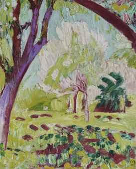 Blühende Bäume, 1922