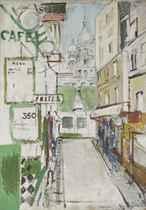 Rue de Steinkerque in Paris, 1957