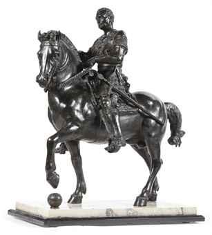 an equestrian statue of gattamelata after donatello italian 19th centu    Donatello Equestrian Statue Of Gattamelata