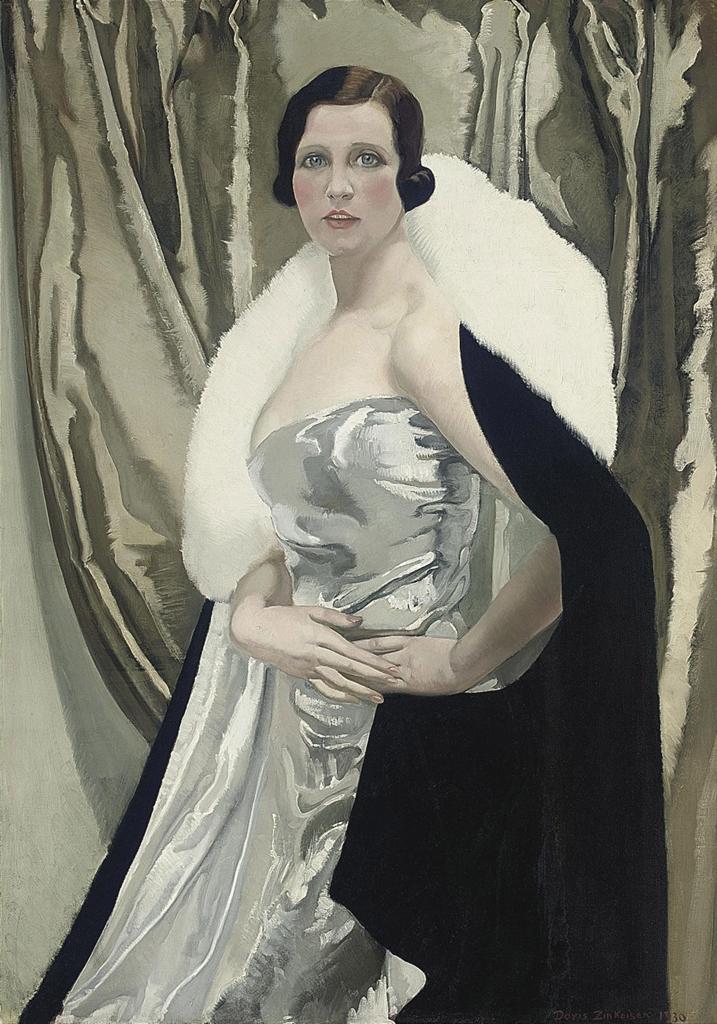Doris Clare Zinkeisen R O I 1898 1991 Portrait Of