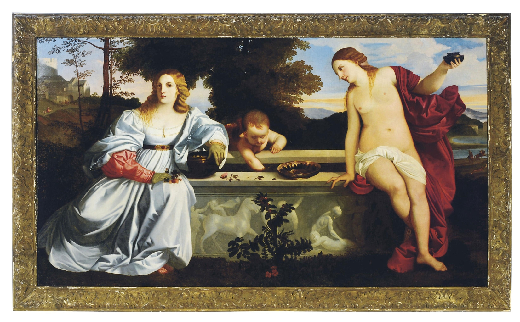 After Tiziano Vecellio, called Titian | Sacred and Profane ...