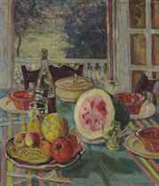 The luncheon table
