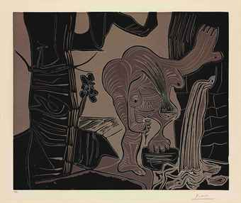 Femme nue à la Source (B. 1093; Ba. 1326)