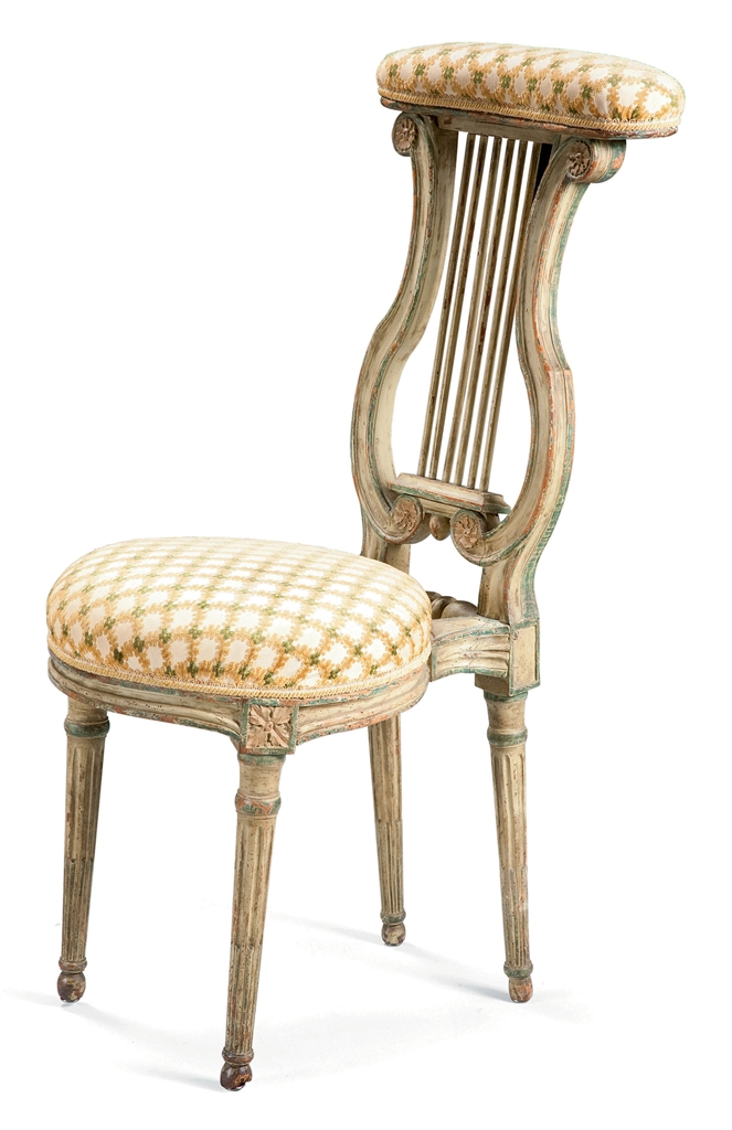 Chaise ponteuse d 39 epoque louis xvi fin du xviiieme for Chaise xixeme siecle