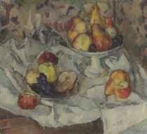 Nature morte avec pommes et poires