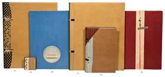 PICABIA, Francis (1879-1953). 591. Dessins et textes de Picabia. [Alès:] PAB, 1952. In-4 (281 x 224 mm). Compositions typographiques de P. A. Benoit et 5 hors-texte de Francis Picabia.