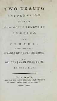 "information to those who would remove to america Respond to the following prompt: reading from benjamin franklin's ""information to those who would remove to america"" create a succinct summary of franklin's ideas and a response to those ideas in the form of ""i agree  ."