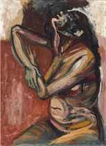 Desnudo (Pose con brazos conformando un trapecio)