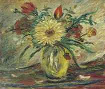 Jarrón con flores (Homenaje a Vincent Van Gogh)