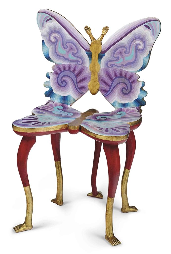Pedro friedeberg mexican b 1937 silla mariposa latin american art auction sculptures - Silla mariposa ...