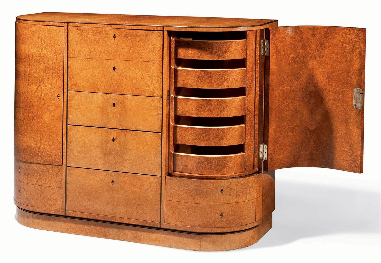 Pierre chareau 1883 1950 meuble de rangement vers for Meuble 1950