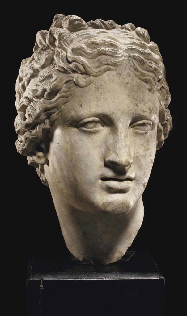 A ROMAN MARBLE HEAD OF VENUS | CIRCA 1ST-2ND CENTURY A.D ...