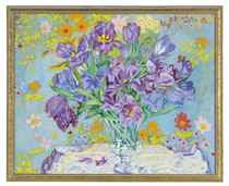 A colorful garden; and a companion work