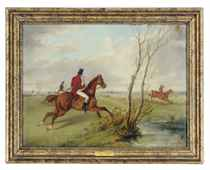 The Hunt; and a companion painting