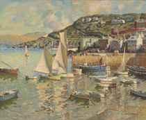 A Cornish harbour