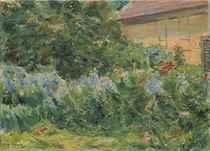 Blumenstauden am Gärtnerhäuschen nach Nordwesten