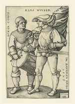 The Standard Bearer and Drummer (B. 199; P., Holl. 202)