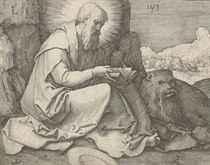 Saint Jerome in a Landscape (Holl. 112)