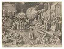 After Pieter Bruegel the Elder by Philips Galle