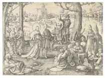 The Dance of Saint Mary Magdalen (Holl. 122)