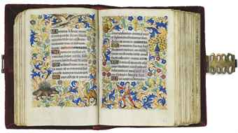 BOOK OF HOURS, use of Rome, in Latin, ILLUMINATED MANUSCRIPT ON VELLUM