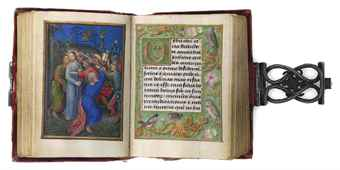 THE IMHOF PRAYERBOOK, illuminated by SIMON BENING, in Latin and Dutch, ILLUMINATED MANUSCRIPT ON VELLUM