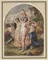 Bacchanalia dancing