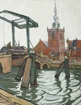 Drawbridge in Schiedam