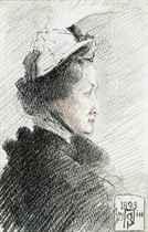 Portrait of Baroness Burdett Coutts