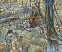 Sheep at the Brook