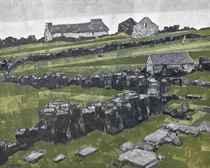 Farm ruins - Deiniolen, Gwynedd