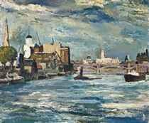 The Thames, Vauxhall Bridge