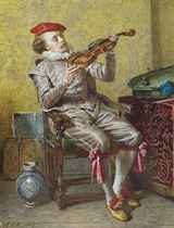 Portrait of the artist as a violinist