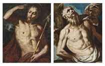 Saint Bartholomew; and Saint John the Baptist