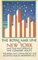 THE ROYAL MAIL LINE TO NEW YORK