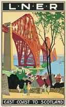 EAST COAST TO SCOTLAND, FORTH BRIDGE