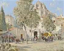 The market, Granada