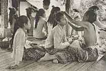 Ubud, Bali, Indonésie, 1949