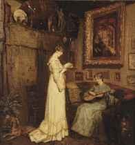 Het Duo; two women in an interior