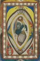 Wappen der Riesen = Stadt, Skt. Adolf = Geigerin, 1915