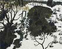 Neige et arbres, 1964