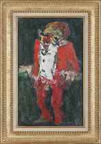 Clown en rouge